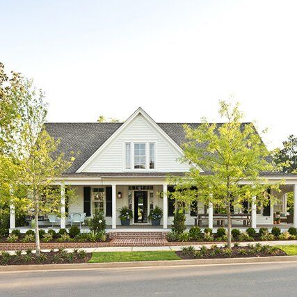 Our Favorite House Plans With Stunning Wrap Around Porches In 2020 Porch House Plans House Plans Farmhouse Southern Living House Plans
