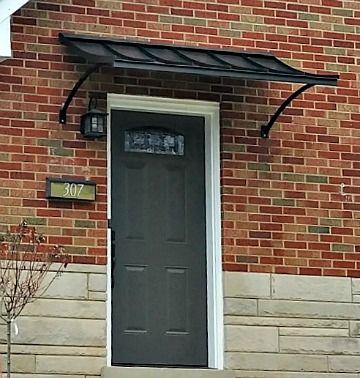 Metal Awning Door Awnings Steel Doors Exterior Custom Awnings
