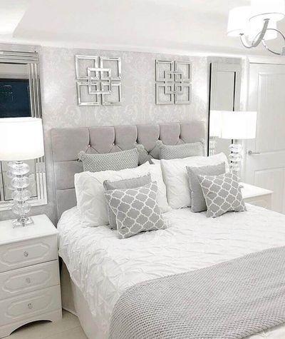 30 Grey Bedroom Inspirations Home Decor Bedroom White Bedroom Design Bedroom Interior