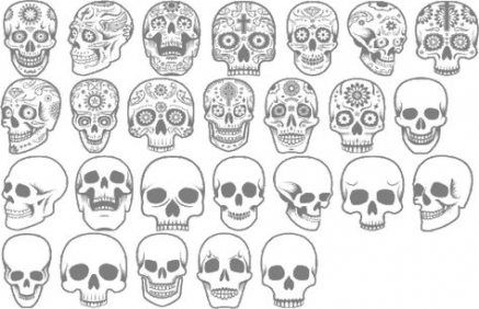 Pin By Heather Bosson On Reference Simple Skull Small Skull Tattoo Tiny Skull Tattoos