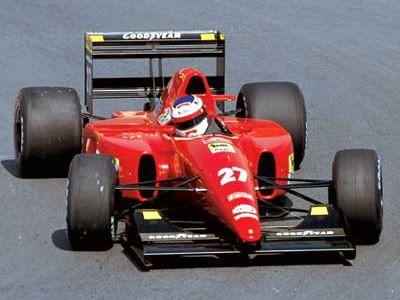 Image result for 1992 ferrari f1