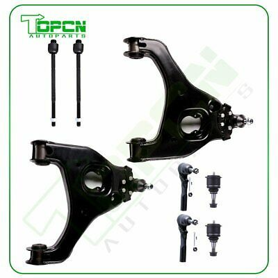 Details About 8x Front Lower Control Arms Upper Ball Joints Tie Rods For Chevy Silverado 1500 In 2020 Chevy Silverado 1500 Chevy Silverado Control Arms
