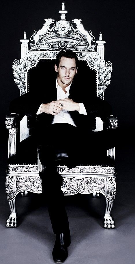 The King einfach umwerfend dieser Mann