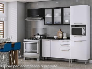 Cozinha Compacta Itatiaia Dandara 6 Portas 1 Gaveta Decoracao