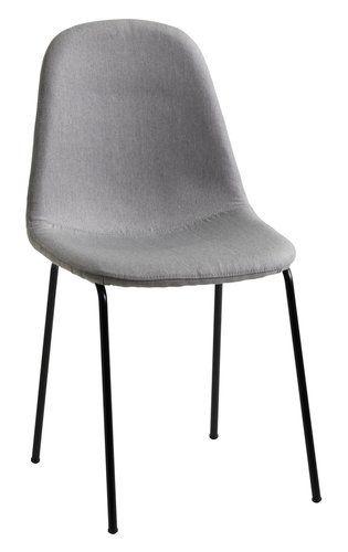 Krzesło Lystrup Szaryczarny Jysk Chairs Krzesła