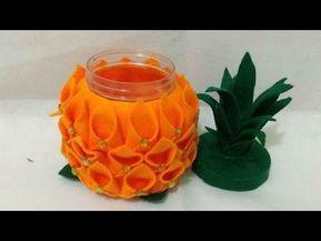 12 Cara Membuat Permen Nanas Lebaran Dari Flanel Pineapple Candy Kreasi Lebaran Youtube Permen Kreatif Ide
