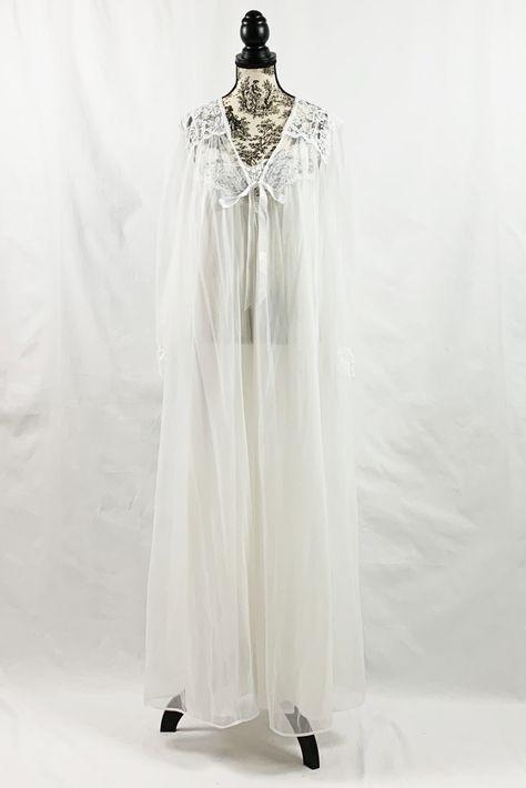 a954e566773 List of Pinterest peignoir sets nightgowns etsy pictures   Pinterest ...