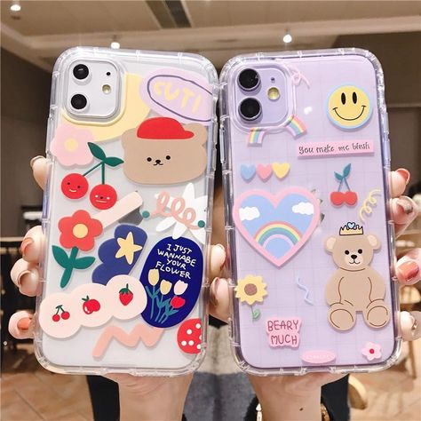 Korean Phone Cases, Kpop Phone Cases, Kawaii Phone Case, Iphone Phone Cases, Phone Covers, Iphone Ringtone, Cellphone Case, Diy Iphone Case, Pretty Iphone Cases