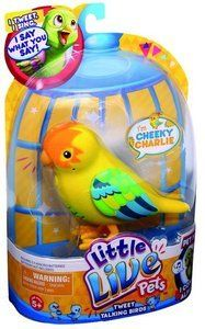 Little Live Pets Birds Yellow From Cuddysonline Little Live Pets Pet Bird Pets