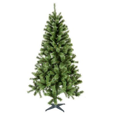 The Holiday Aisle 6 Green Pine Artificial Christmas Tree Wayfair Green Christmas Tree 6ft Christmas Tree Cool Christmas Trees