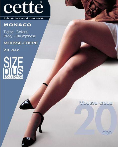 CETTE Monaco 20 Den Plus Size Made in Belgium  220f01118f