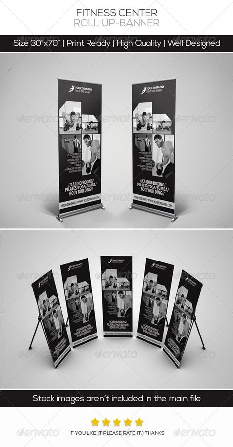 Roll Up Rollup Banner