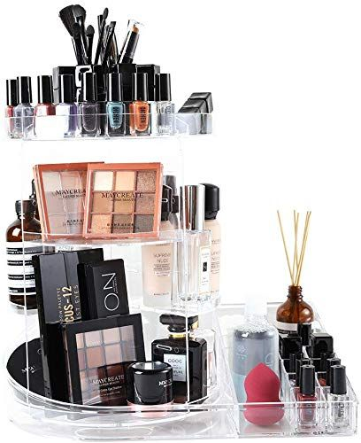 Enjoy Exclusive For Sunficon Rotating Makeup Organizer Makeup