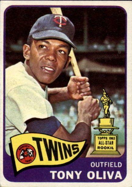 1965 Topps Tony Oliva Rookie Baseball Cards Active