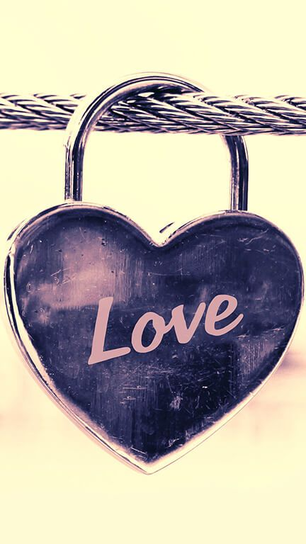 Love Lock Purple iPhone background for your phone ...