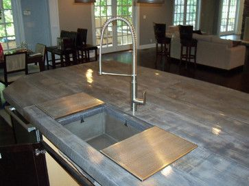 Concrete Countertops That Look Like 119 861 To Wood Home Design Photos