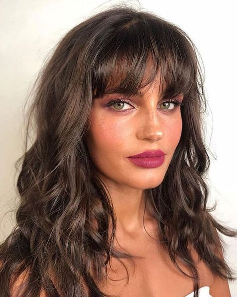 Premium Selena Hair Style Ombre Brown Synthetic Wigs For Women, Two Tones Dark Roots Long Wavy Front Lace Wig Heat Resistant Hair dark hair styles Grace Fantasy Hair Hair Inspo, Hair Inspiration, Beach Curls, Beach Waves, Beach Wavy Hair, Fantasy Hair, Brown Hair Colors, Cornrows, Hairstyles With Bangs