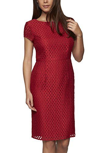 Robe Apart Fashion Rouge Femme Kleid 040Robes Rotcranberry W9D2EHYI