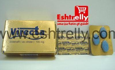 فايركتا لعلاج حالات ضعف الانتصاب Virecta Tablets Convenience Store Products Packing Convenience Store