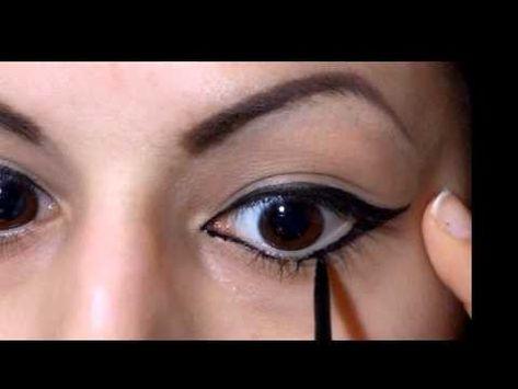 Applicare l'eyeliner non è mai stato così facile!! - YouTube