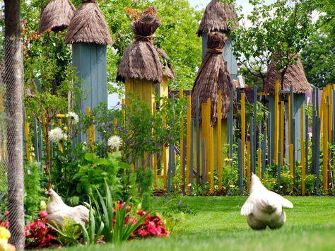 Garten für den Frieden - Bitche (F)   Gärten in Frankreich - vorgarten anlegen nordseite