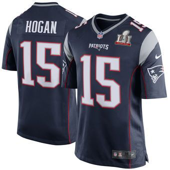 Chris Hogan New England Patriots Nike Super Bowl Li Bound Game Jersey Navy Jersey Patriots New England Patriots Apparel New England Patriots