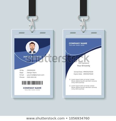 Office Id Card Template Perfect For Any Types Of Agency Corporate Offices And Companies You Can Also Graphic Design Business Card Corporate Id Card Design