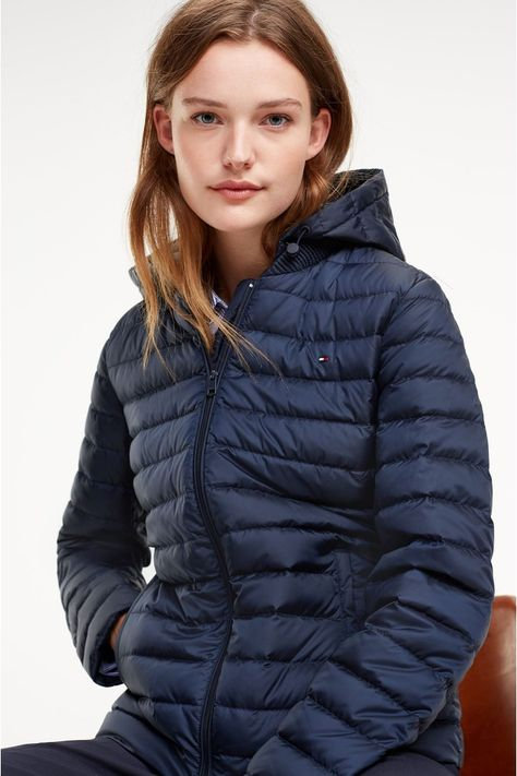 Tommy Hilfiger Tommy Hilfiger Women's Mid Length Packable