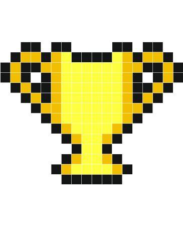 Cup Stickers Muraux Dessin Pixel Pixel Art Facile Et