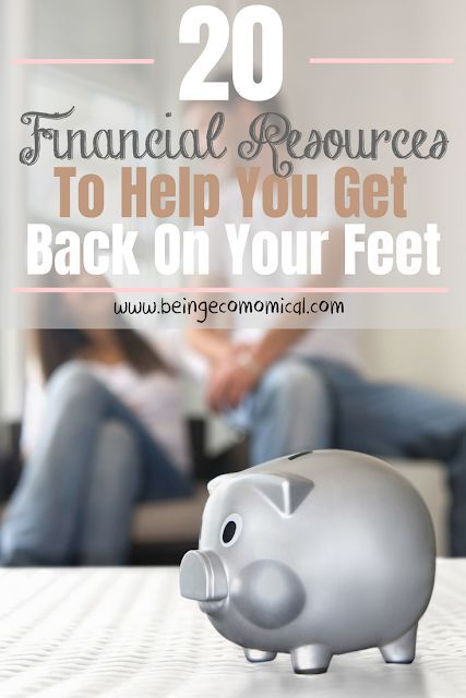 20 Financial Resources To Help Get You Back On Your Feet Personal Loans Payday Loans Loans For Poor Cre Personal Loans Help Paying Bills Help Paying Rent