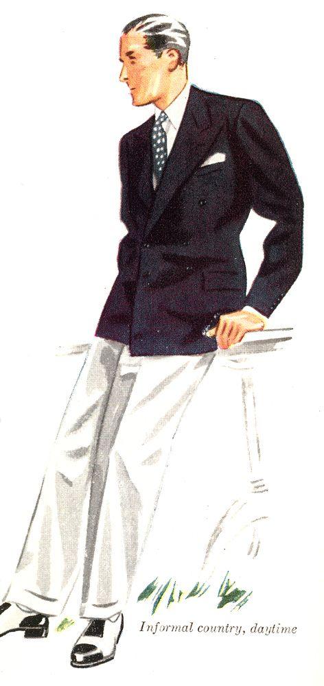 Vintage Menswear Illustrations Era Of Apparel Arts Esquire Mens Fashion Illustration Fashion Illustration Vintage Vintage Mens Fashion