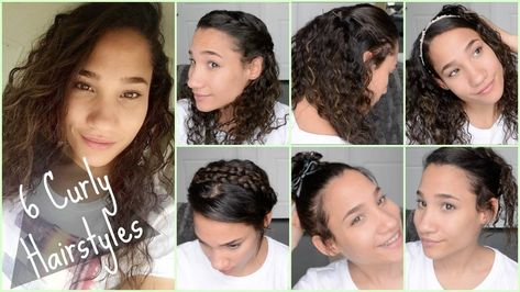 Cute Curly Hairstyles For Back To School Quick And Easy