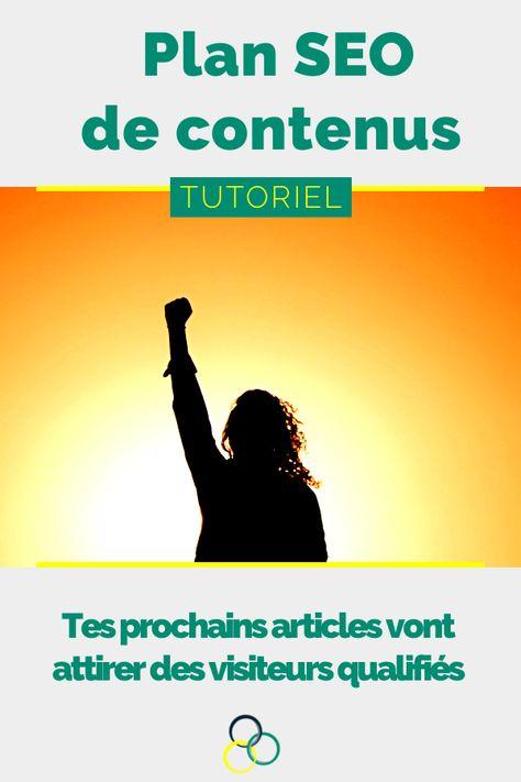 SEO : crée le plan du contenu de ton site avec les mots-clés
