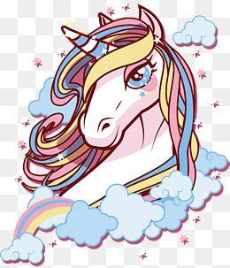 يونيكورن مع عيون كبيرة Unicorn Drawing Unicorn Logo Unicorn Art