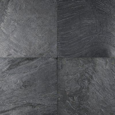 Montauk 12 X 12 Slate Stone Look Wall Floor Tile In 2020 Floor And Wall Tile Wall Tiles Flooring