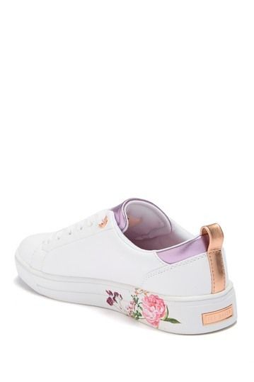 Giellip Floral Leather Sneaker