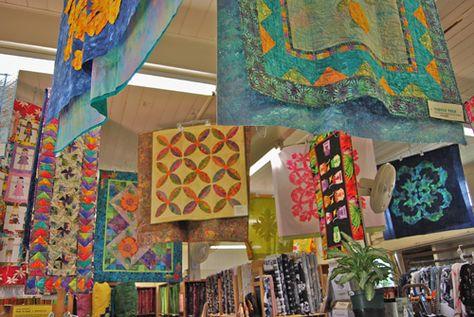 Slideshow Of The Fabric Shop Kapaia Stitchery Hawaiian