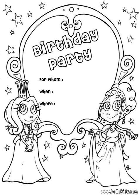 Pin Von Eva Gubik Auf Happy Birthsday Coloring Geburtstag