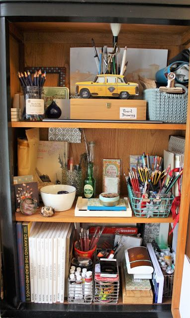 How I Organize My Drawing Watercolor Urban Sketching Supplies