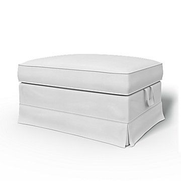 Extra Ikea Ottoman Covers Ikea Footstool Covers Bemz In 2020