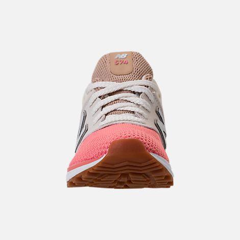new balance 574 sport hemp with dusted peach