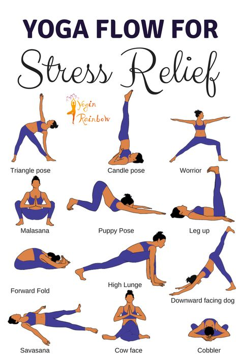 "Yoga Flow for Stress Relief Yoga poses for beginners // yoga poses for strength // yoga poses for flexibility // yoga South Africa // yoga for stress relief // yoga for mobility // yoga sequence for beginners. ""This yoga flow is perfect for stress relie"