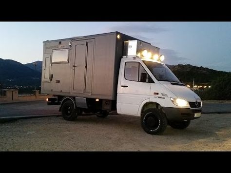 Mercedes Sprinter 4x4 Camper Van Conversion 2015
