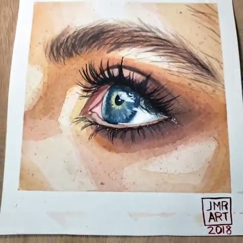 With practice and motivation, creating a realistic #watercolorpainting doesn't seem so daunting. Use your #Arteza Watercolor Paint to showcase your creativity and expand your technique! Artist Credit: @jmr_art
