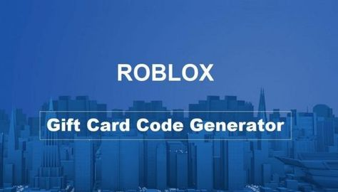 Real Pin Roblox Gift Card Codes Free Roblox Code Generator 2020 In 2020 Roblox Roblox Codes