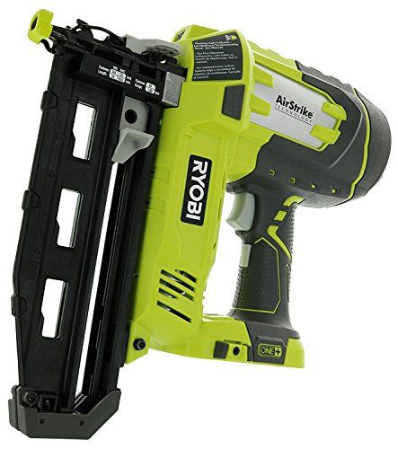 Ryobi P325 One 18v Lithium Ion Battery Powered Cordless 16 Gauge Finish Nailer Battery Not Included Power Tool Only Finish Nailer Paint Storage Tools