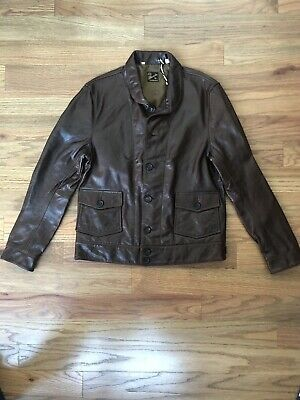 Ad Ebay Url Levis Vintage Clothing Menlo Cossack Leather Jacket S Bourbon Brown Einstein Lvc Levis Vintage Clothing Hooded Sweater Mens Leather Jacket