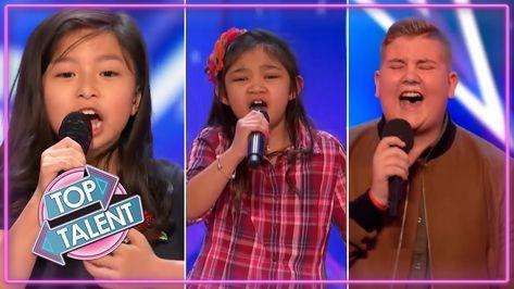 BEST KIDS SINGERS AUDITIONS 2017 ON Britain's Got Talent & America's Got  Talent