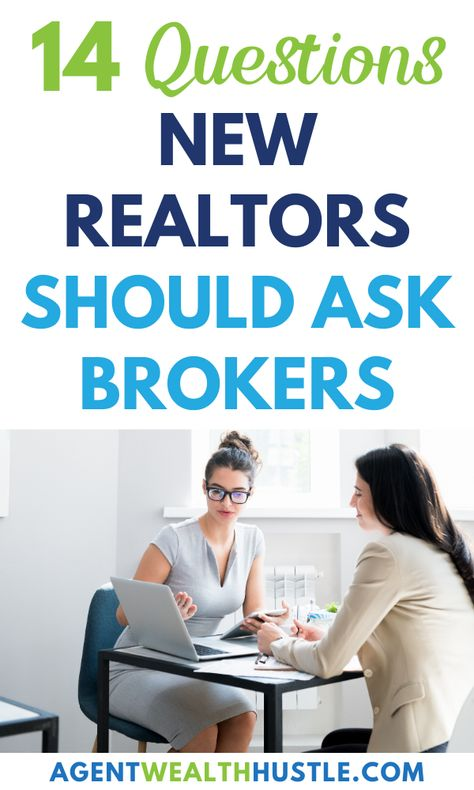 How To Choose a Real Estate Broker, as a New Realtor