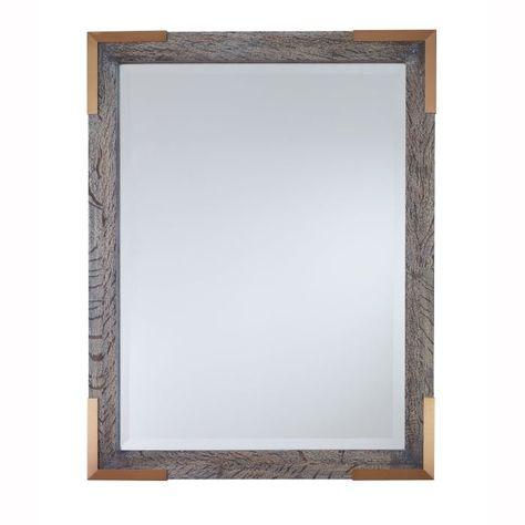 Colin Kravet Mirror Grasscloth Oak Finish